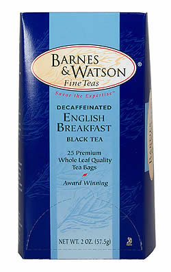 Decaffeinated English Breakfast (25 Pillow Teabags)