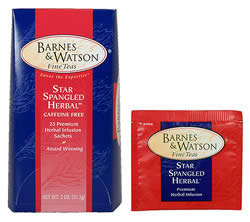 Star Spangled Herbal (25 Foil-Wrapped Teabags)